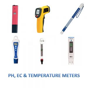 PH, EC and Temperature